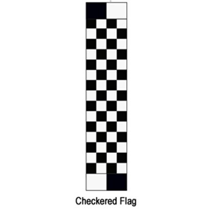 """Picture of Carefree  13' 2"""" Checkered Flag w/ W WG Vinyl Patio Awning Fabric JU149A00 00-1622"""