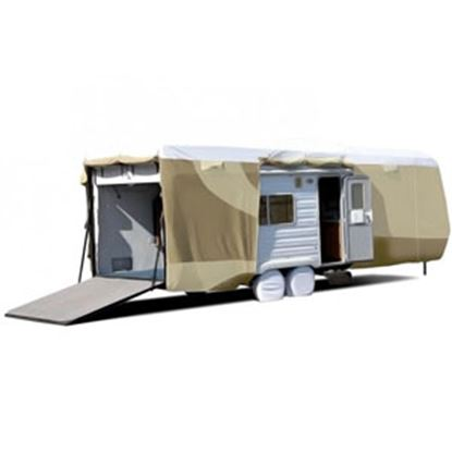"""Picture of ADCO Tyvek (R) Plus Gray Polypropylene Cover For 24' 1""""-28' Toy Haulers 34873 01-0147"""