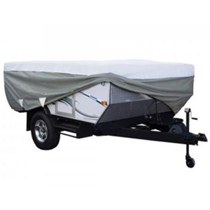 Picture of Classic Accessories PolyPRO (TM) 3 Poly Water Resistant RV Cover For 14-16' Folding Camper Trailers 80-041-173106-00 01-0393