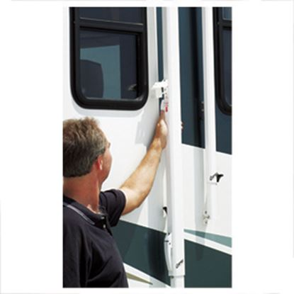 """Picture of Carefree  White 41.5""""L Awning Roller Lock For Spirit And Fiesta R012803-405 01-0688"""