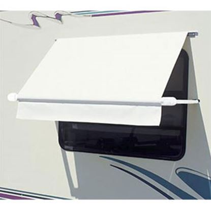 Picture of Carefree SimplyShade (R) White 4.0' DIY Window Awning WH0404F4FW 01-0981