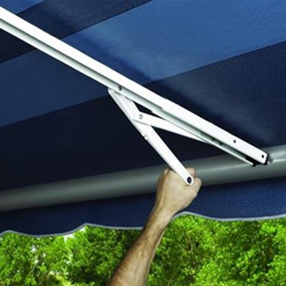 Picture of Carefree Rafter VI Satin/ Black Awning Rafter Arm 902860 01-0983