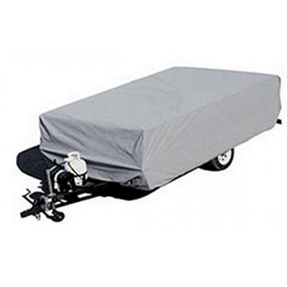 "Picture of ADCO  Gray Poly Cover For Folding/Pop-Up 10'1""-12' Tent Trailers 2892 01-1093"