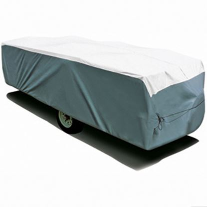 """Picture of ADCO Tyvek (R) Poly Cover For Up To 16' 1""""-18' Folding/ Pop Up Trailers 22895 01-1212"""