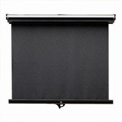 Picture of Carefree Maxi SmartVisor Manual Black Vinyl Right Side Control Windshield Shade JD040MA36-RP 01-2890