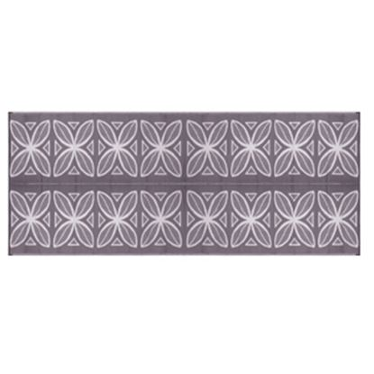 Picture of Camco  8' x 20' Charcoal Botanical Reversible Camping Mat 42833 01-2943