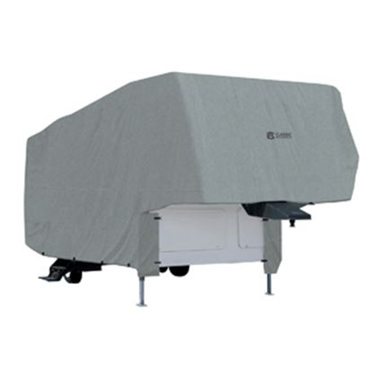 Picture of Classic Accessories PolyPRO (TM) 1 Poly Water Repellent RV Cover For 33-37' Fifth Wheel Trailers 80-153-181001-00 01-3724