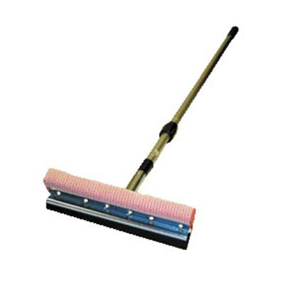 "Picture of Carrand  10"" EPDM Squeegee w/4-7' Adjustable Telescoping Handle 9500 02-0058"
