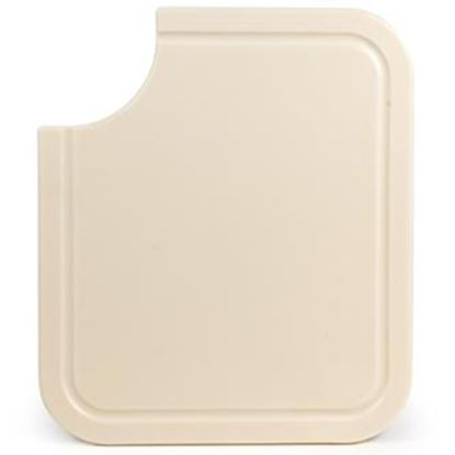 "Picture of Camco  Almond 12-1/2""L x 14-1/2""W Plastic Cutting Board 43859 03-0450"