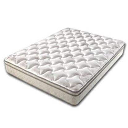 Picture of Denver Mattress Rest Easy Eurotop Standard Queen Pillow Top BioFlex Foam Mattress 360174 03-0791