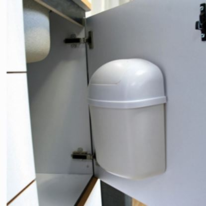Picture of Camco  Wall Mount Trash Can 43961 03-1137