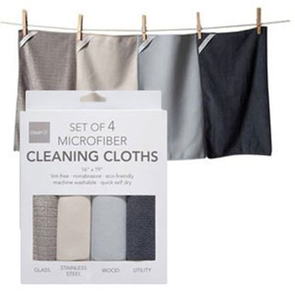Picture of KA&F  4-Pack Cleaning Cloths MF 24976 03-1380