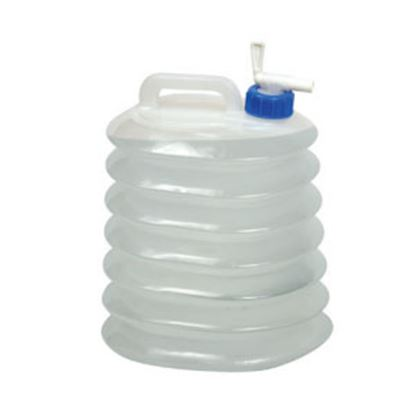 Picture of Coghlan's  2 Gal White Polyethylene Expandable Water Carrier 9737 03-1942