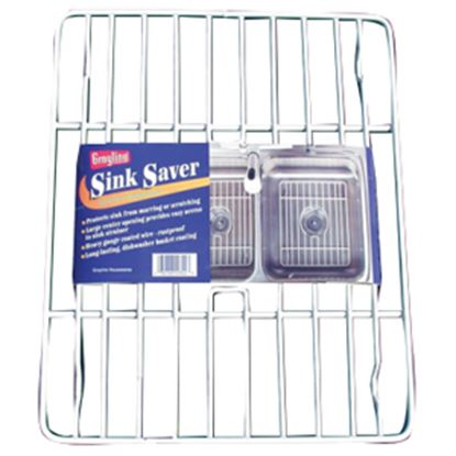 """Picture of AP Products  12.63""""L x 10-1/4""""W x 3/4""""T Steel Sink Protector 004-322 03-1984"""