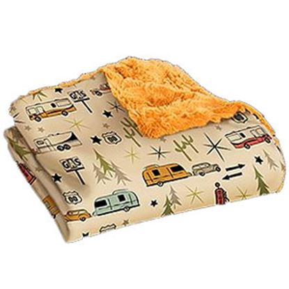 Picture of Camp Casual The Throw Polyester Road Trip Picnic Blanket CC-005RT 03-2190