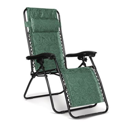 Picture of Camco  Green Swirl Gravity Folding Chair 51811 03-3606