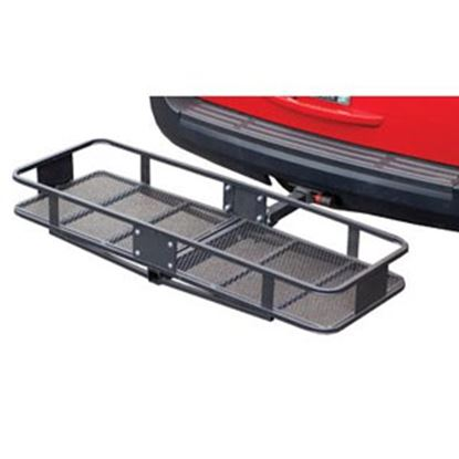 """Picture of Husky Towing  60""""x20""""x6"""" 500 Lb Folding Cargo Carrier for 2"""" Hitch 81149 05-0048"""