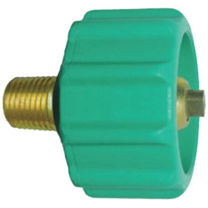 "Picture of JR Products  1-5/16"" Female ACME Quick Connect x 1/4"" MPT LP Hose Connector 07-30285 06-0078"