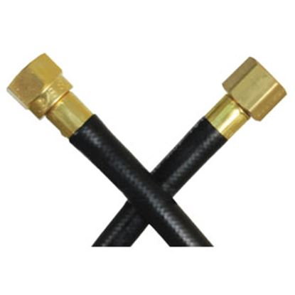 Picture of JR Products  POL (Prest-O-Lite) End x Male Cylinder Thread End LP Adapter Hose 07-31055 06-0159