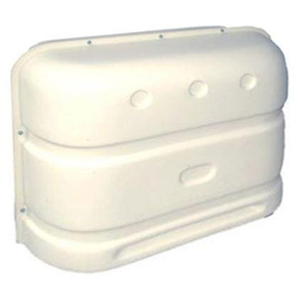 Picture of Icon  Polar White Polyethylene Double 20LB/30LB LP Tank Cover 00385 06-0644