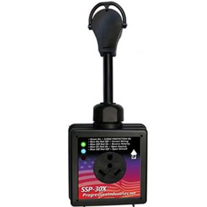 Picture of Progressive Industries  30A Portable Surge Protector w/ LED Indicators SSP-30X 06-5728