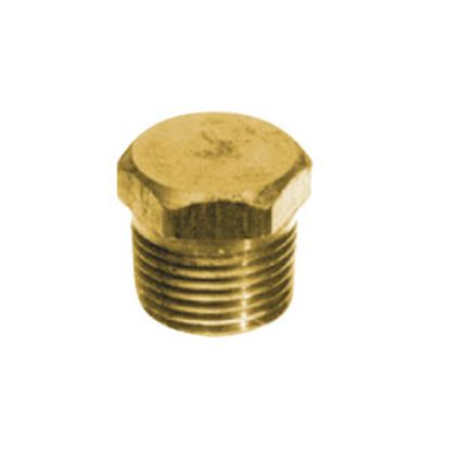 Picture of Anderson Metal LF 7121S Series Fitting Plug, Lead Free, 7121S 1/4 Solid Hex 706125-04 06-9207