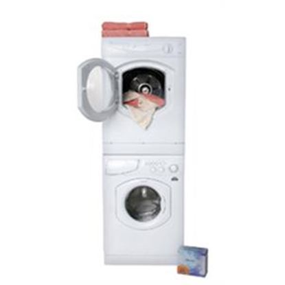 """Picture of Splendide Splendide (R) 24"""" White Stackable Vented Clothes Dryer  07-0537"""