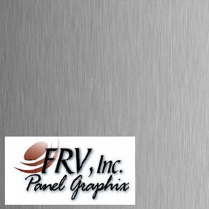 Picture of FRV  DE0061 Brushed Aluminum Refrigerator Door Panel DE0061BA 07-0622