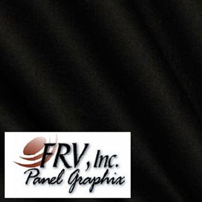 Picture of FRV  N1200 Black Acrylic Refrigerator Door Panel N1200L 07-0671