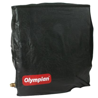 Picture of Camco Olympian Heaters Black Vinyl Cover For Wall Mount Wave 3/3100 Space Heater 57706 08-0143