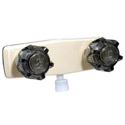 "Picture of Phoenix Faucets  4"" Biscuit Plastic Shower Valve w/Black Knobs PF213142 10-0194"