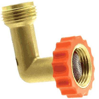 Picture of Aqua Pro  Brass 90 Degree Hose Saver 20647 10-0658