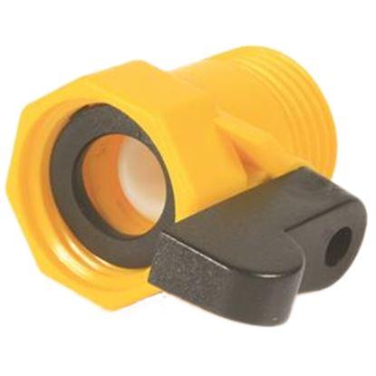 Picture of Camco  Plastic Straight Hose Shut-Off Valve 20003 10-0802
