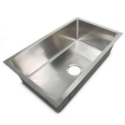 "Picture of Better Bath  27""W X 16""L X 7""D Silver Stainless Steel Sink 385313 10-1954"