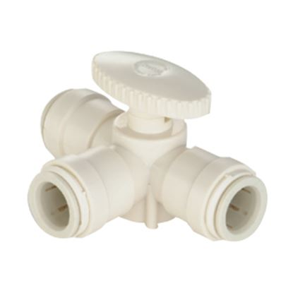 """Picture of Sea Tech 35 Series 1/2"""" Female QC CTS Polysulfone Manifold Stacking Valve 013538-10 10-8179"""