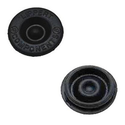 Picture of AP Products  2-Pack Rubber Trailer Wheel Bearing Dust Cap Plug 014-122065-2 11-0383