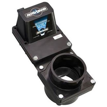 """Picture of Barker Auto Drain 3"""" Electric Actuated Waste Valve 24130 11-0590"""