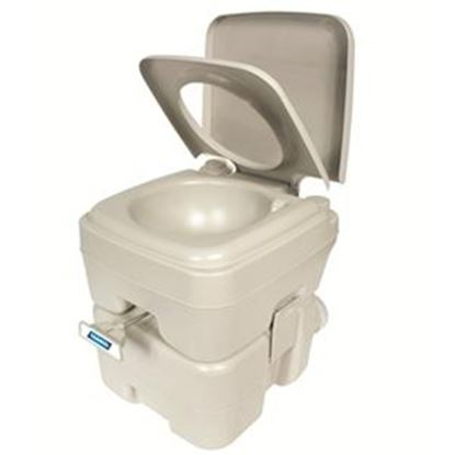 Picture of Camco  5.6 Gal Beige Portable Toilet 41541 12-0222