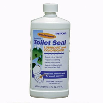 Picture of Thetford  20 Oz Bottle Silicone Based Toilet Seal Lubricant w/ Conditioner 36663 13-0187