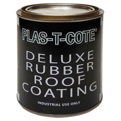 Picture of Plas-T-Cote  White Roof Coating For Rubber Roof 16-44032 13-0543