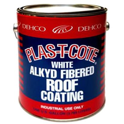 Picture of Plas-T-Cote  1 Qt Roof Coating For Metal And Fiberglass Roof 16-45032 13-1538