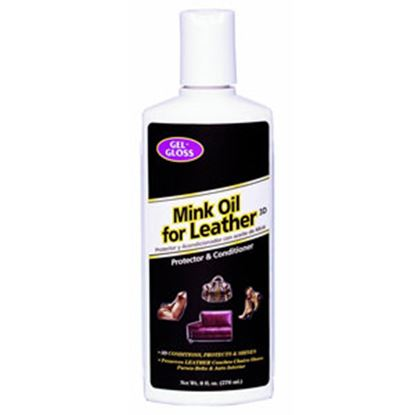 Picture of Gel-Gloss  8 oz Leather Conditioner w/ Mink Oil TRMO-8 13-1587