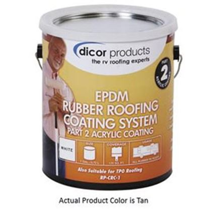 Picture of Dicor  Tan Roof Coating For EPDM Rubber Roofs RP-CRCT-1 13-1951