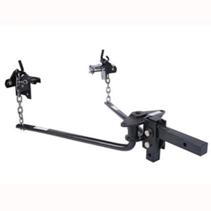 "Picture of Husky Towing  400-600 Lb Round Bar Weight Distribution Hitch w/10"" Shank 31421 14-1067"