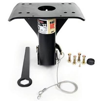 """Picture of EAZ-Lift  12"""" 5th Wheel Hitch Goose Neck Adapter 48500 14-2929"""