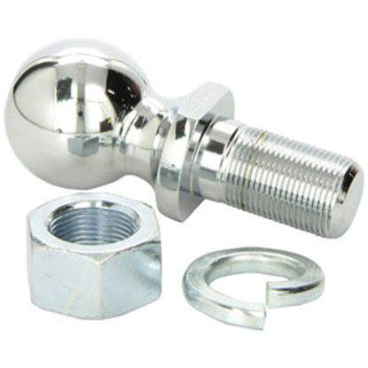 "Picture of Equal-i-zer Equalizer Chrome 2"" Trailer Hitch Ball w/ 1-1/4"" Diam Shank 91-00-6080 14-2977"