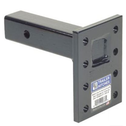 "Picture of B&W Hitches Heavy Duty 16K 3-Position 11"" Shank Pintle Hook Receiver Mounting Plate PMHD14003 14-3407"