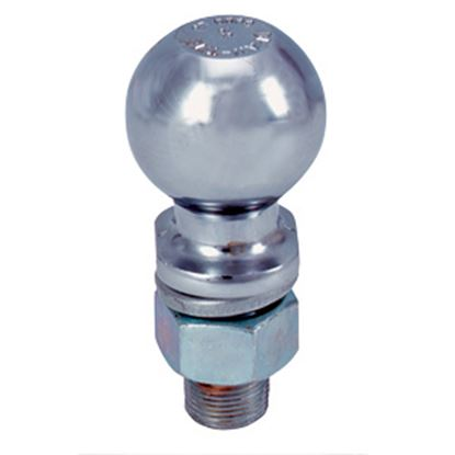 """Picture of Tow-Ready  2-5/16"""" Trailer Hitch Ball w/ 1"""" Diam x 2-1/8"""" Shank 63853 14-8618"""