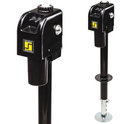 Picture of Stromberg Carlson  Black 3500 Lb Electric A-Frame Trailer Jack JET-3755 15-0649