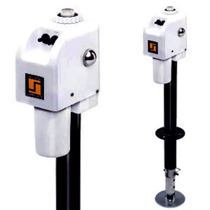 Picture of Stromberg Carlson  White 3500 Lb Electric A-Frame Trailer Jack JET-3555 15-0652